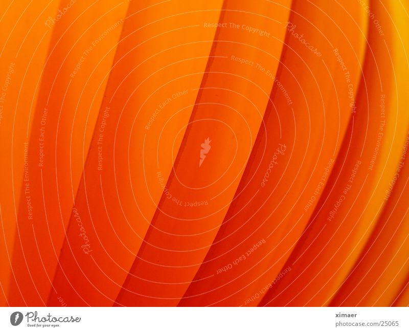 Lamp Orange Waves Living or residing Moon Progress Disk