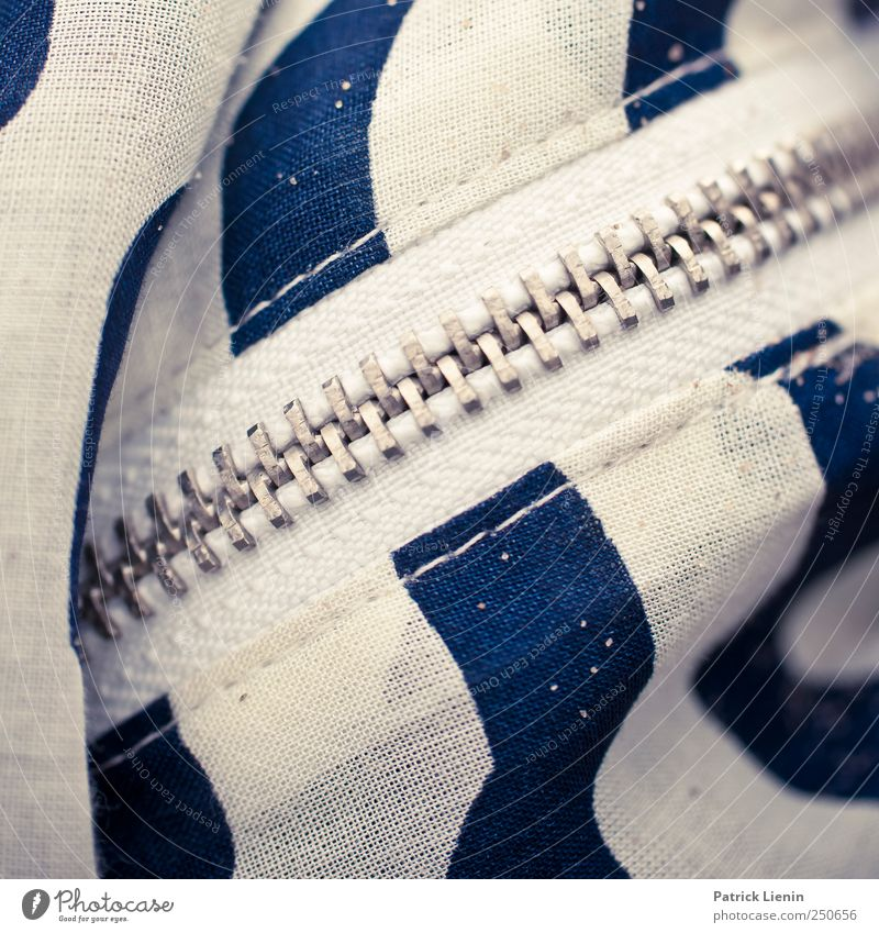 Blue White Beautiful Colour Bright Closed Esthetic Lifestyle Clothing Exceptional Zipper Closure
