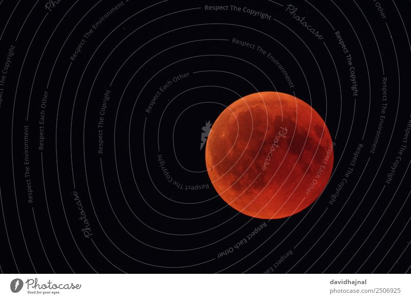 Lunar Eclipse 27 July 2018: Totality Adventure Telescope Technology Science & Research Astronomy Environment Nature Sky Sky only Cloudless sky Moon