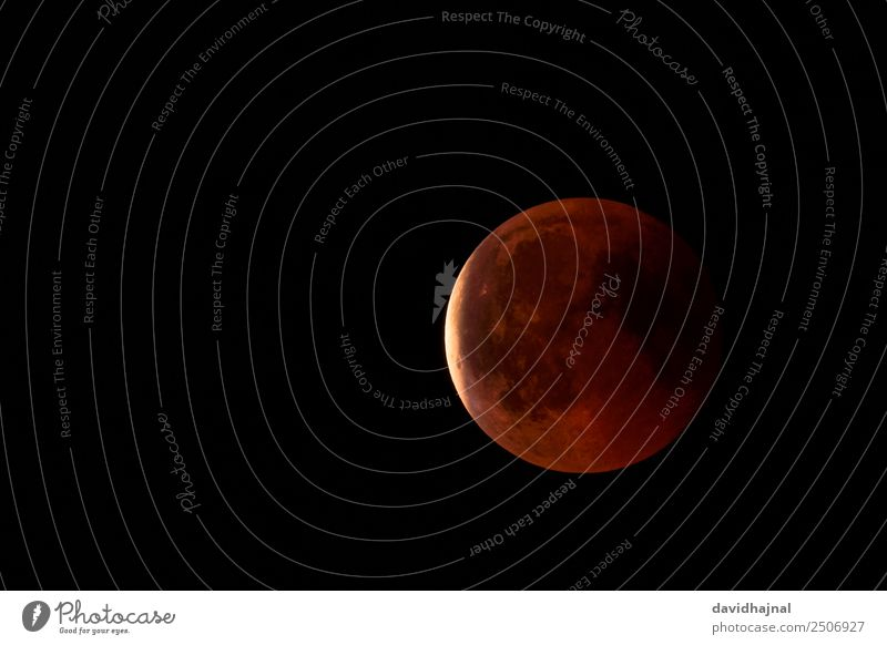 Lunar Eclipse 27 July 2018: The End Trip Adventure Far-off places Freedom Telescope Technology Science & Research Astronomy Environment Nature Sky Sky only