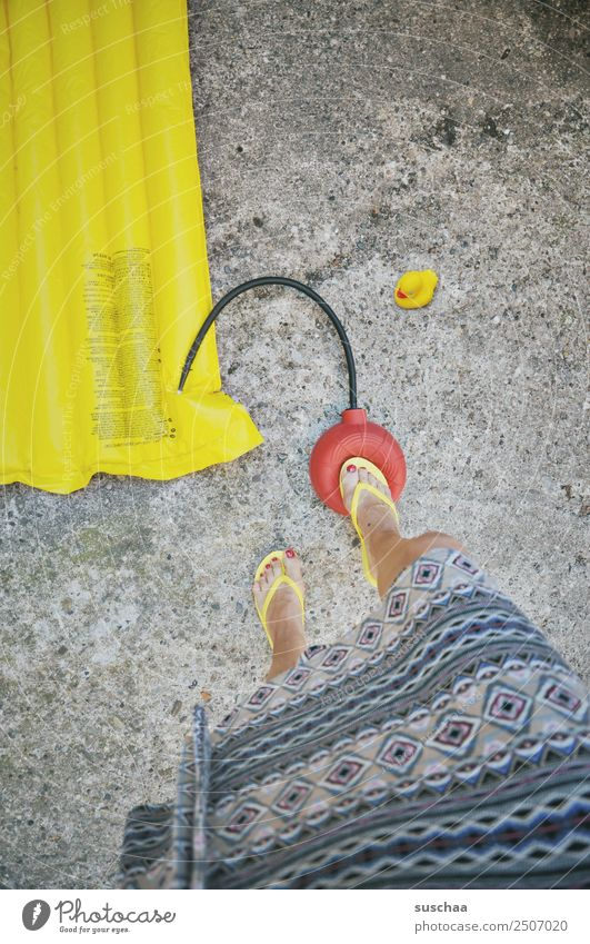 pump my mattress Blow bellows Air Air mattress bath mattress Summer Vacation & Travel Water Lake Ocean Swimming & Bathing be afloat Leisure and hobbies
