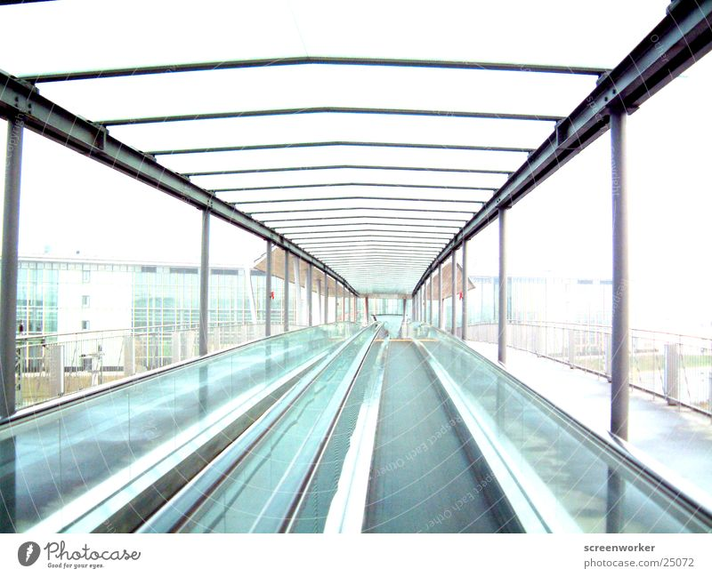 Architecture Speed Roof Tunnel Escape Escalator Stairs