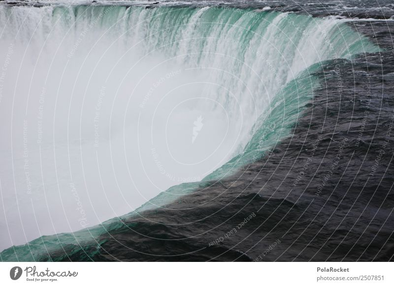 #A# Nia Environment Nature Landscape Elements Water Adventure Waterfall Drops of water Surface of water Niagara Falls (USA) Deep Torrents of water Canada