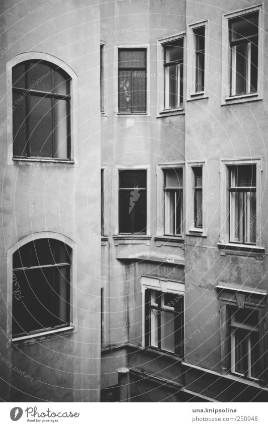 City Loneliness House (Residential Structure) Dark Wall (building) Window Emotions Wall (barrier) Building Moody Facade Simple Manmade structures Austria