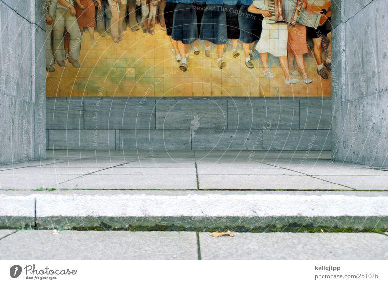 Human being Berlin Architecture Group Legs Music Feet Art Walking Political movements Concert Past Museum Fan Artist Painter