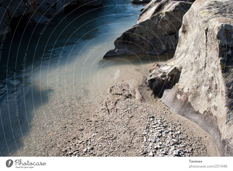 Water Beach Mountain Environment Sand Stone Wait Rock Hiking Drops of water River Elements Alps River bank Gravel Brook
