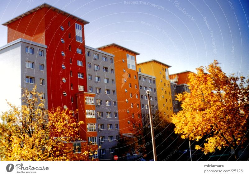 Shapes and colours House (Residential Structure) Town Building Architecture Colour Modern Structures and shapes