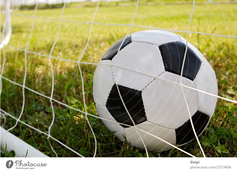 Soccer ball Playing Camping Club Disco Sports Success Earth Grass Net Green Black Competition champion Championship cup equipment euro European field fifa