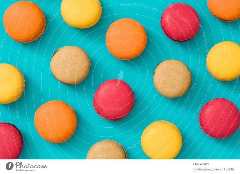 Caron Cake Red Blue Yellow And Orange