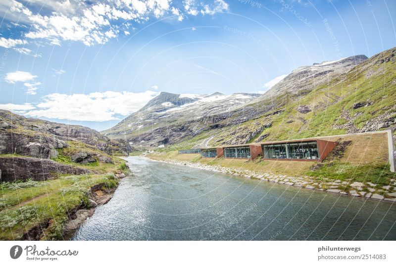 Trollstigen Visitor Centre on the River and Bergen, Norway Vacation & Travel Tourism Trip Adventure Far-off places Sightseeing Cruise Camping Corten Climate
