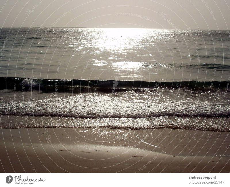 Water Sun Beach Sand Waves Horizon Mirror To break (something)
