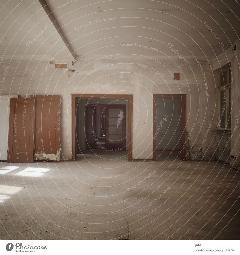 Window Building Door Room Flat (apartment) Gloomy Manmade structures Decline Vacancy