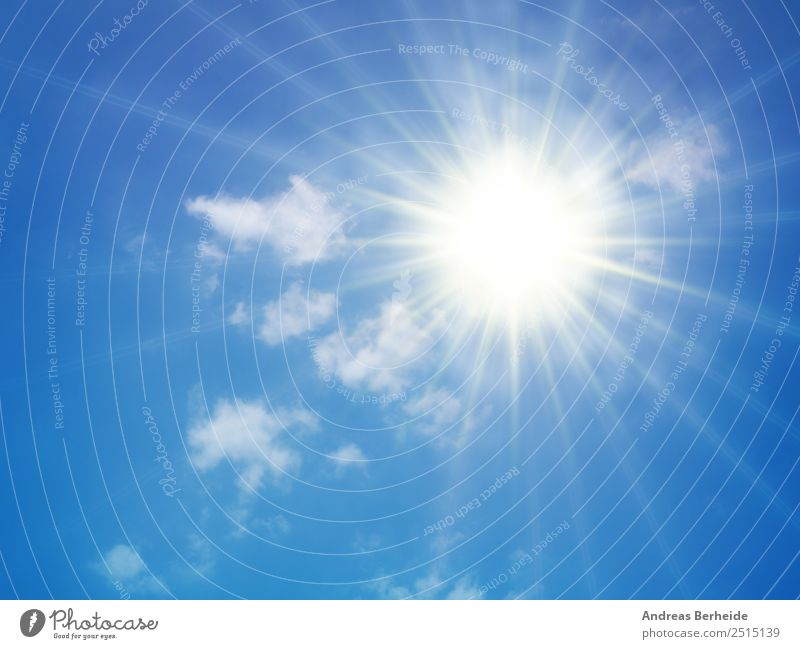 Heat, sun, summer, sunbeams, hot Summer Sun Sunbathing Nature Sky Sky only Clouds Sunlight Climate Climate change Weather Warmth Drought Hot Bright