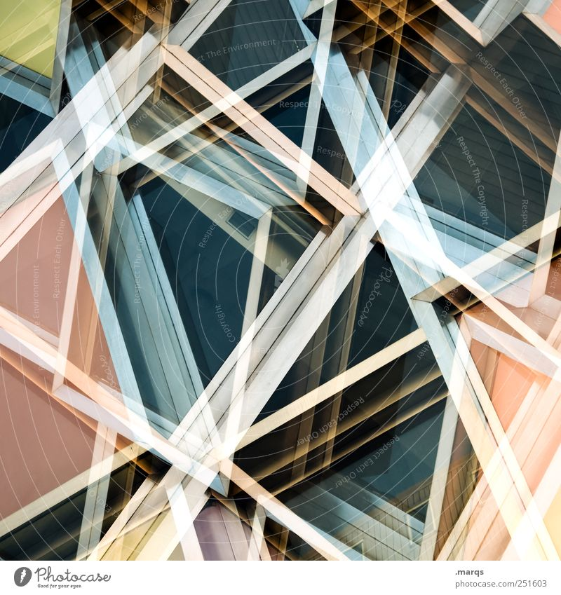 decompose Line Exceptional Chaos Dynamics Facade Car Window Uniqueness Modern Labyrinth Sharp-edged Surrealism Crazy Hip & trendy Future Glittering Geometry