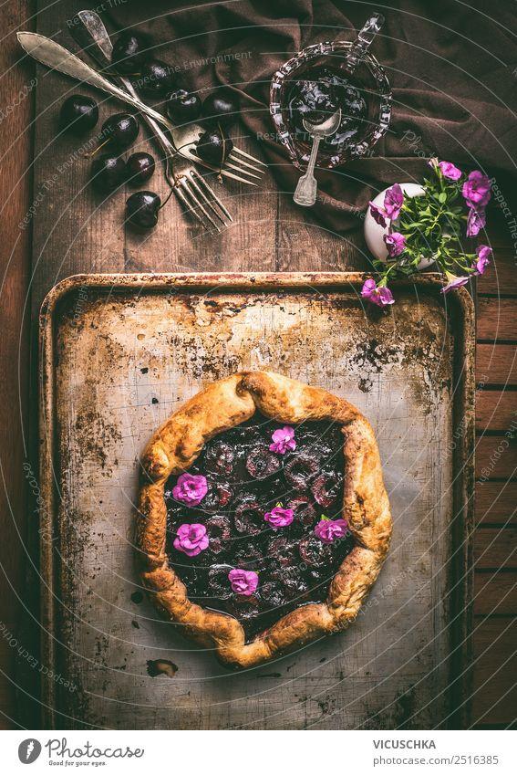 Summer Food photograph Eating Style Living or residing Design Fruit Nutrition Elegant Table Cake Organic produce Dessert Crockery Still Life