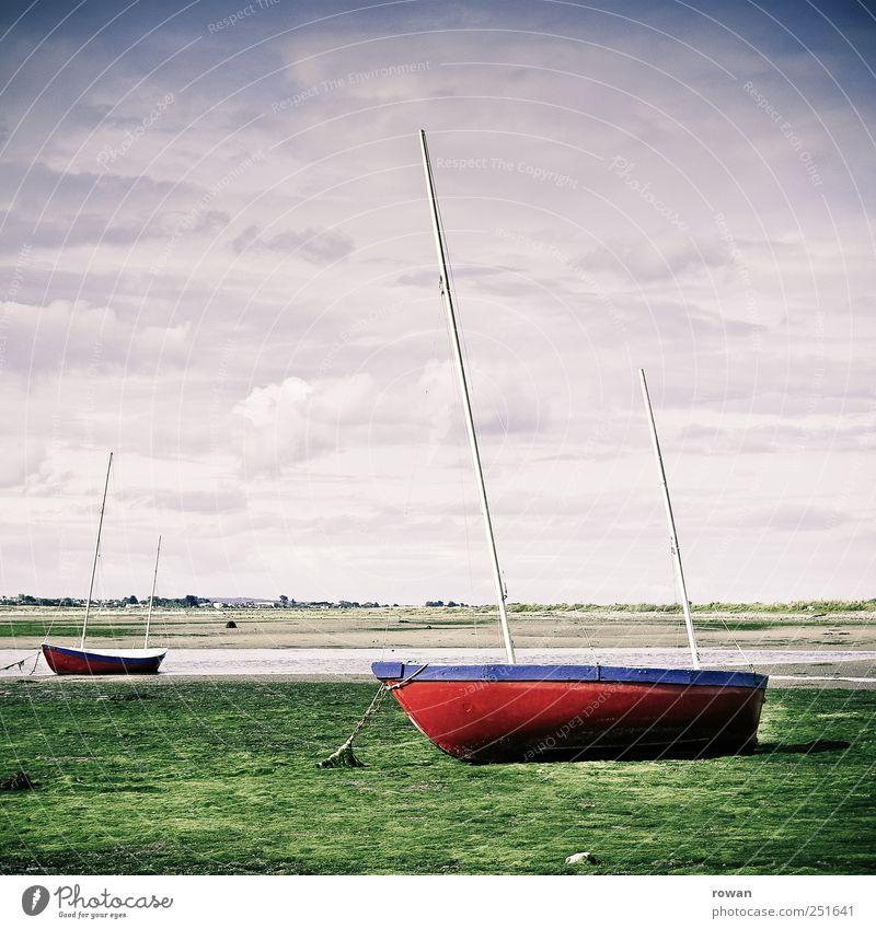 Nature Red Vacation & Travel Beach Ocean Calm Grass Coast Watercraft Wait Wet Harbour Bay Lakeside Navigation Chain
