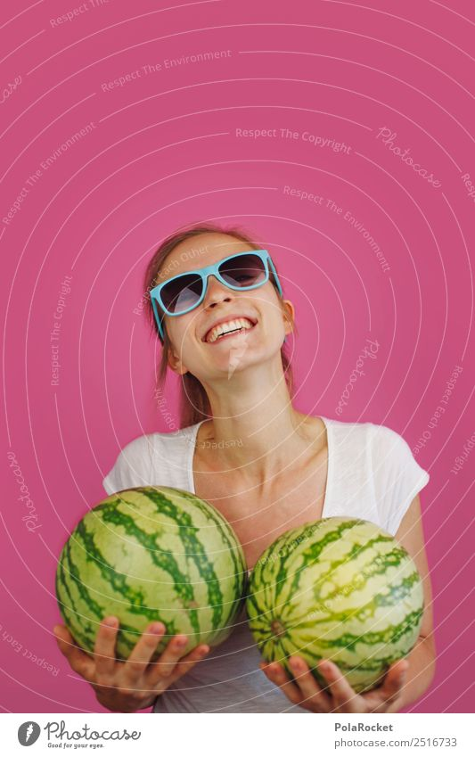 #A# Movie Flash Back 1 Human being Esthetic Joy Comical Funster The fun-loving society Funny Melon Woman Young woman Youth culture Summer Summer vacation