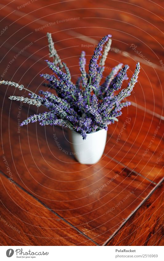 #A# Lavender on the table Nature Esthetic Lavande harvest Vase Flower Violet France Provence Decoration Blossom Colour photo Subdued colour Interior shot