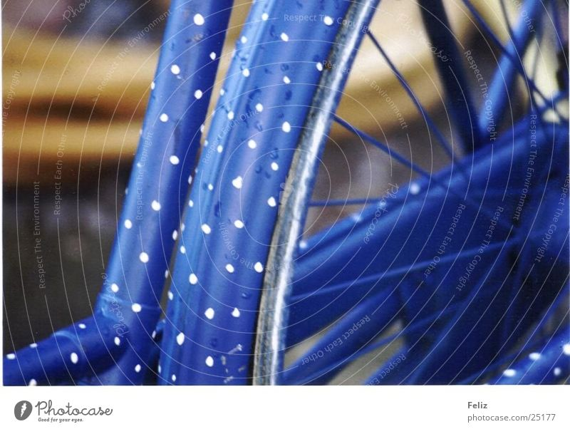 Blue Bicycle Point Photographic technology