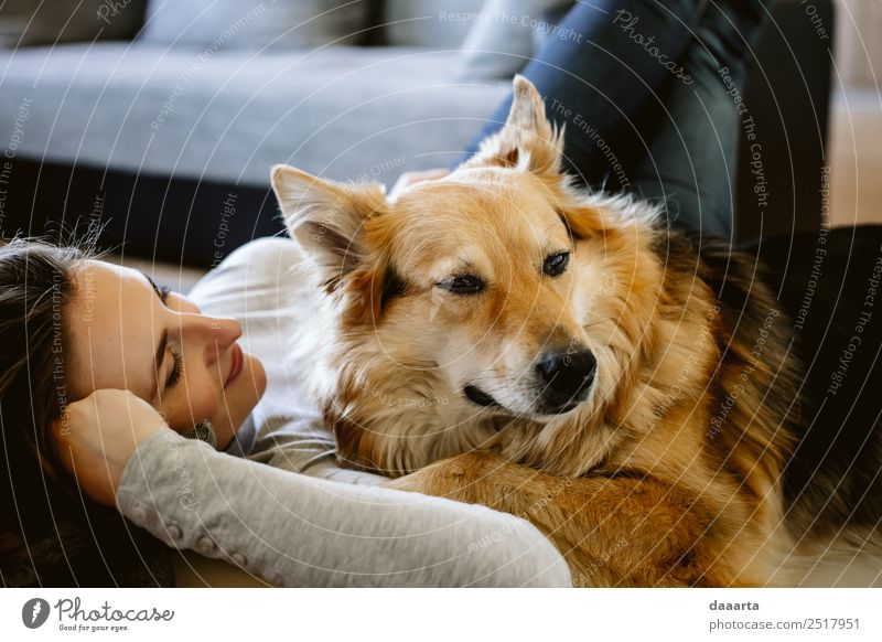 good company :))) Dog Animal Joy Lifestyle Warmth Love Emotions Feminine Style Freedom Moody Living or residing Design Leisure and hobbies Dream