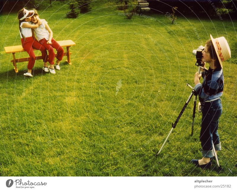 Human being Child Playing Group Photographer Twin Cheerful Profession