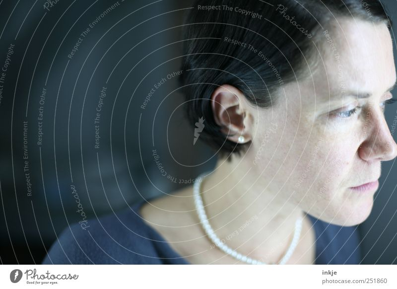 Woman Human being Blue Loneliness Face Black Cold Life Feminine Head Emotions Gray Adults Sadness Think Dream