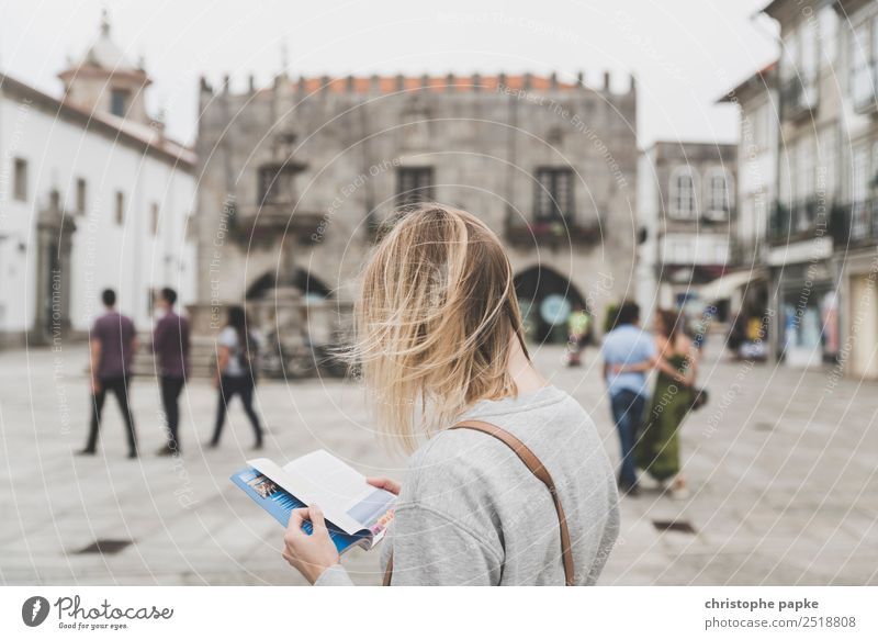 Human being Vacation & Travel Youth (Young adults) Young woman Town House (Residential Structure) 18 - 30 years Architecture Adults Building Tourism