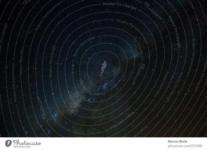 mmmh lecker milkyway :) Nature Air Night sky Stars Desert Hope Colour photo Exterior shot Deserted Long shot