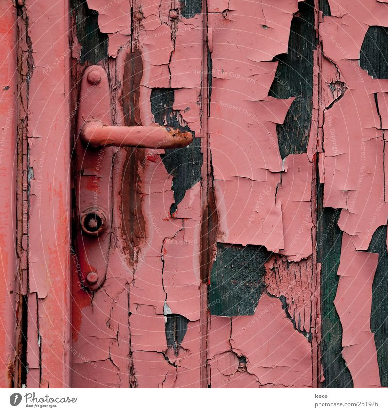 Old Red Black Colour Wood Building Metal Brown Door Broken Transience Past Hut Rust Trashy Ruin