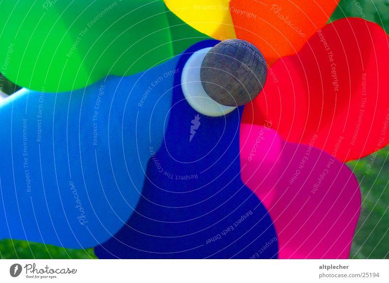 windmill Multicoloured Colour Pinwheel Toys Playing Joy