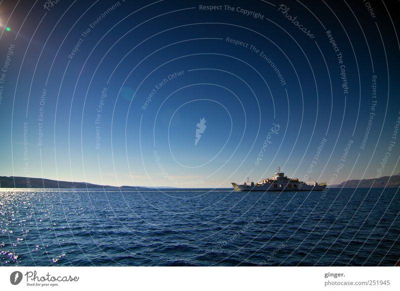 Sky Water Blue Summer Vacation & Travel Ocean Environment Coast Air Waves Horizon Island Climate Illuminate Driving Beautiful weather
