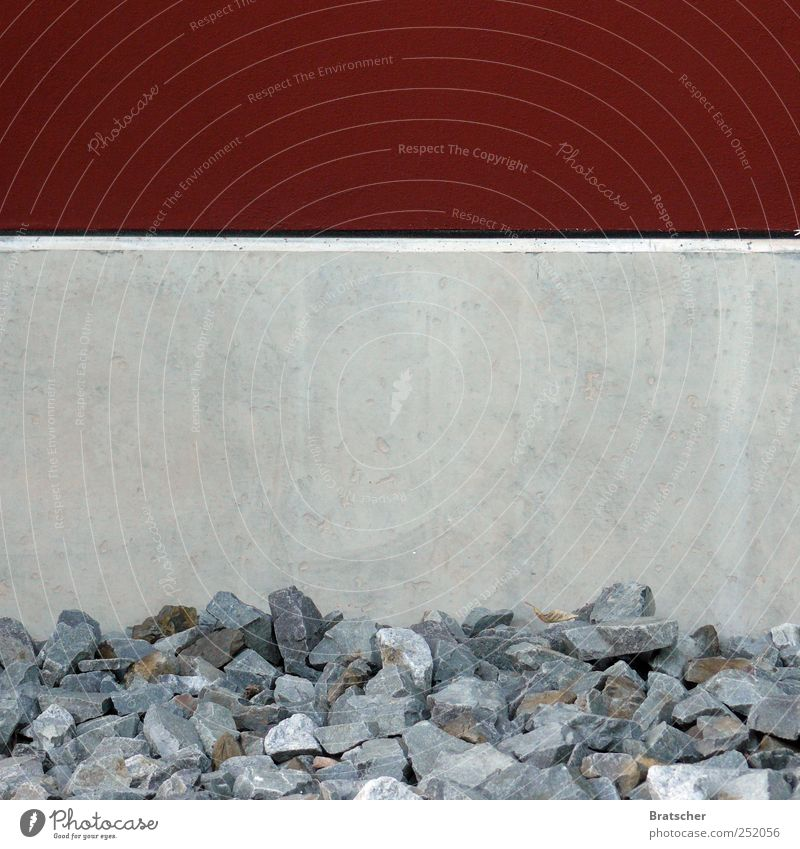 Text space, concrete Stone Concrete Corner Stripe Horizontal Copy Space middle Copy Space top Unload Level Fill switch off Graffiti Gray Red