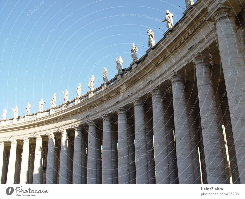 Religion and faith Architecture Column Rome Vatican Peter's square