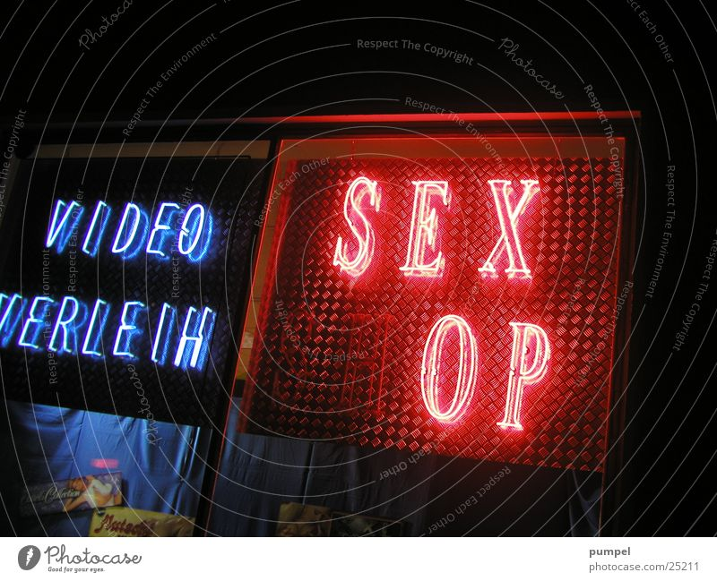 who wants to see this? Neon light Broken Sex Small Photographic technology Lamp