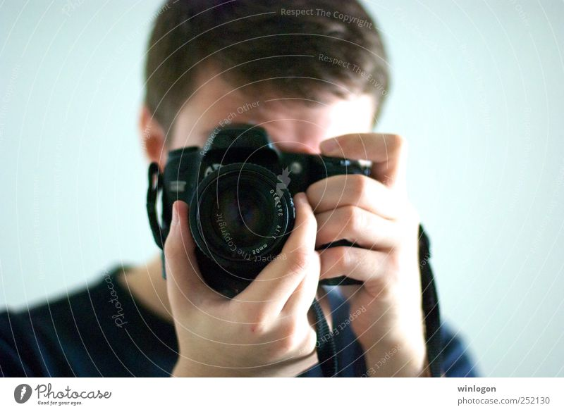 - Photographer Photography Take a photo Photographic technology Camera Objective Lens Digital photography Human being Masculine Young man Youth (Young adults)