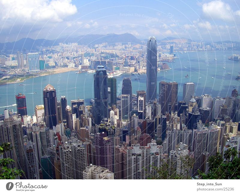 Hong Kong from Peakview Hongkong High-rise Kowloon Town Flat (apartment) Success harbour Hong Kong Iceland peakview