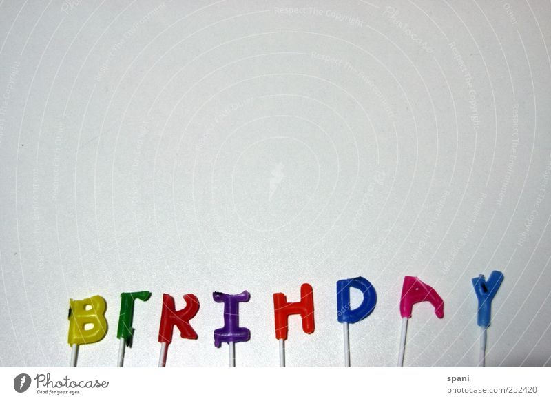 happy Sign Joy Happy Birthday Characters Candle Congratulations Flash photo