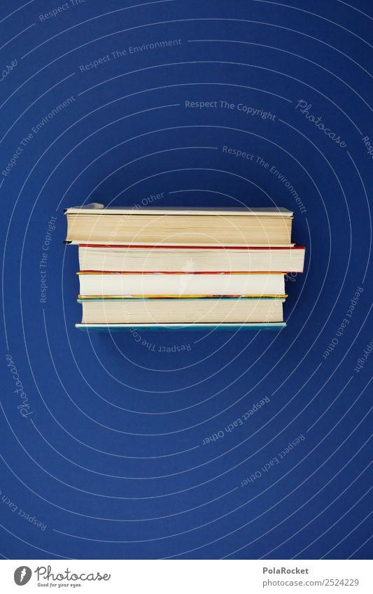 Blue Art School Esthetic Study Book Academic studies School building Science & Research Know Stack Literature Scientist Reader Bookworm Bookshelf