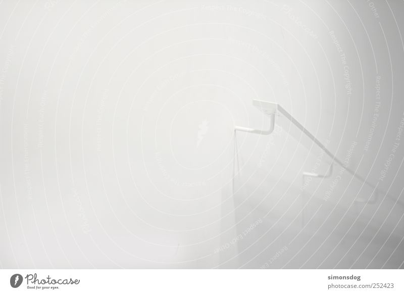 routes Wall (barrier) Wall (building) Stairs Facade Build Touch To hold on Going Living or residing Simple Elegant Firm Bright Uniqueness Modern White Safety