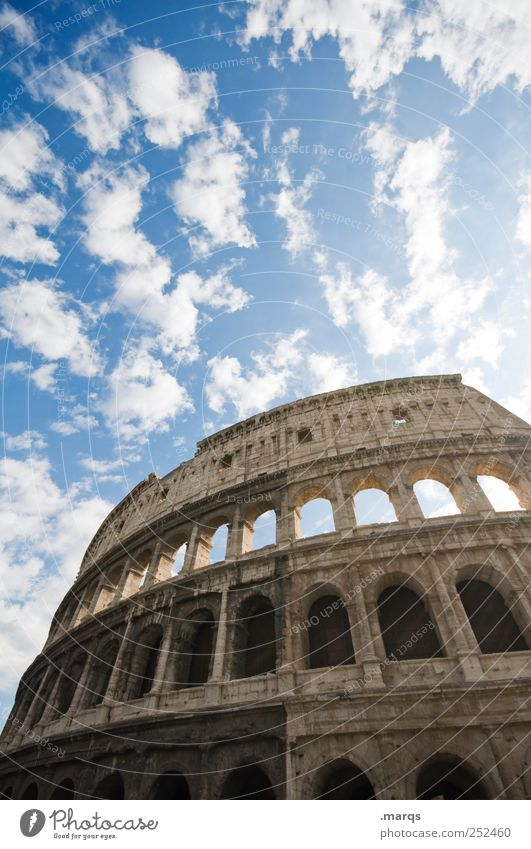 Rome Vacation & Travel Sightseeing City trip Culture Italy Manmade structures Architecture Historic Buildings Tourist Attraction Landmark Colosseum Old Large