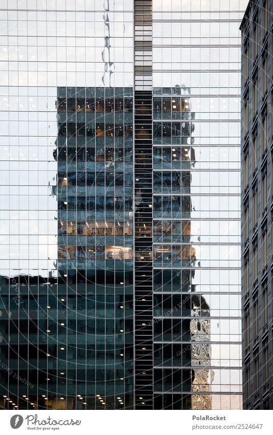 #A# Mirrors Art Esthetic Facade Cladding Green facade Reflection Glass Glas facade High-rise High-rise facade Canada Montreal City Business Business District