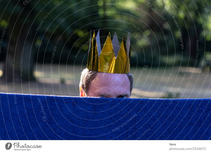 Human being Life Masculine Observe Curiosity Expectation Puzzle Crown