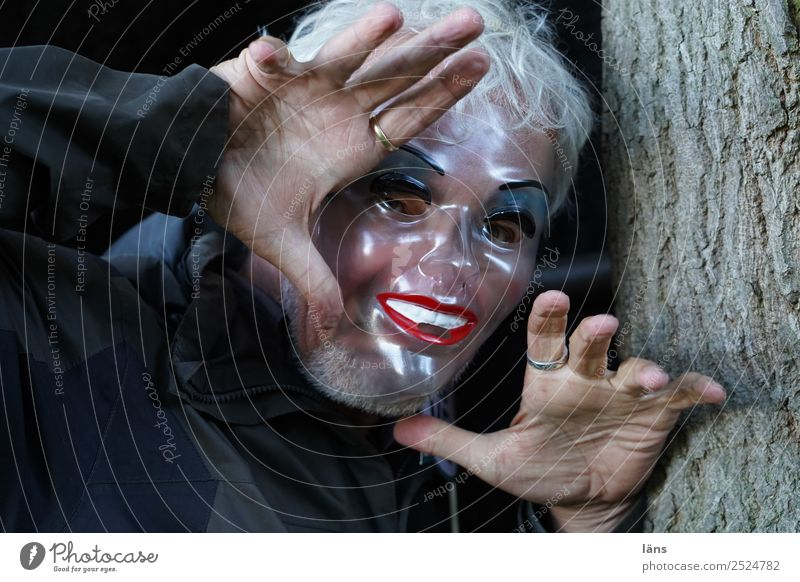 He just wants to play Human being Masculine Life 1 Observe Discover Looking Threat Creepy Curiosity Surprise Fear Horror Timidity Experience Joy Mask