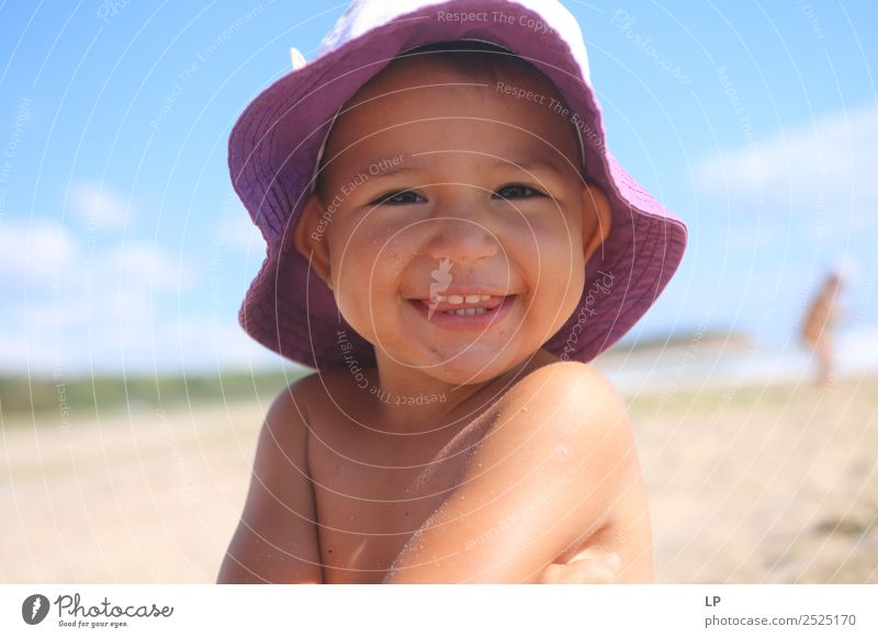 show me your teeth Joy Wellness Life Harmonious Well-being Contentment Senses Leisure and hobbies Playing Summer Summer vacation Sun Sunbathing Beach Parenting
