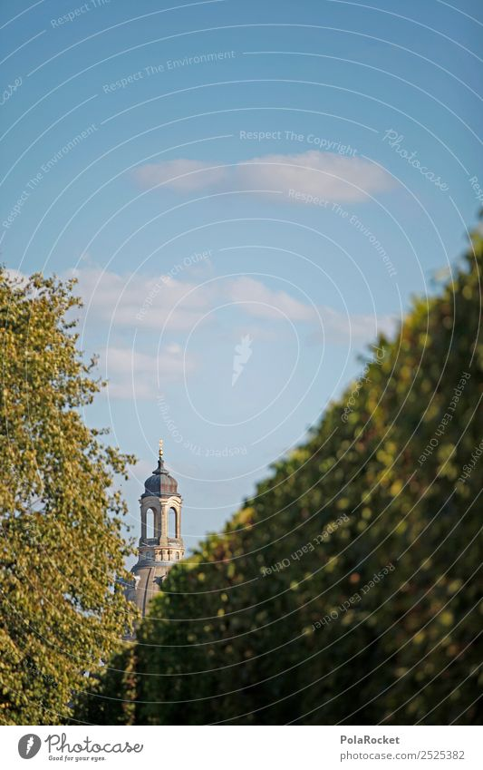 #A# Dresden Sandstone Lady Church Esthetic Church of Our Lady Religion and faith Church congress Frauenkirche Saxony Old town Domed roof Colour photo