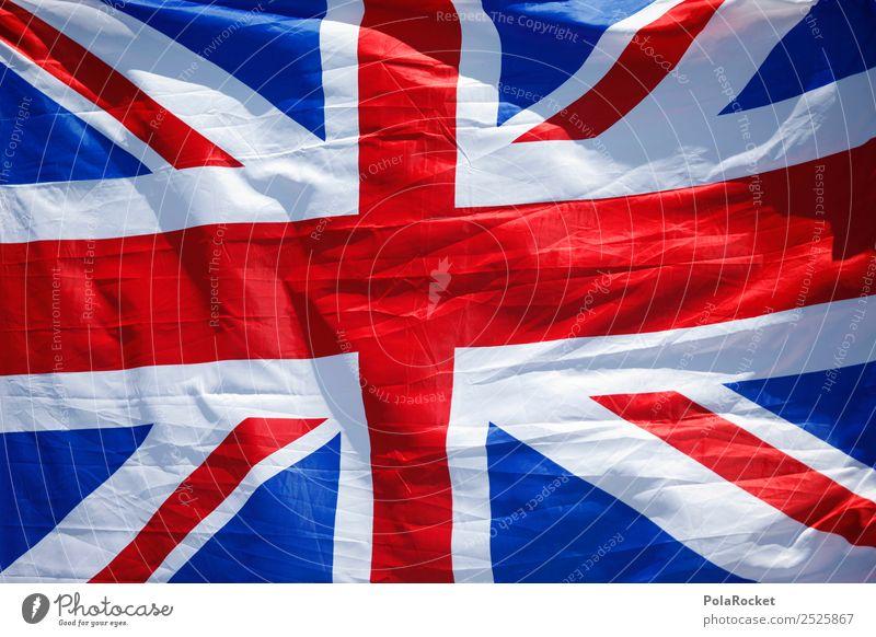 Blue White Red Art Esthetic Might Symbols and metaphors Flag Crucifix Language Great Britain Foreign language British Union Jack