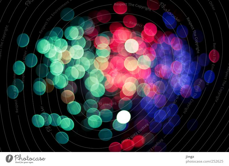 Blue Green Red Feasts & Celebrations Pink Glittering Crazy Violet Night life Symbols and metaphors Light Abstract