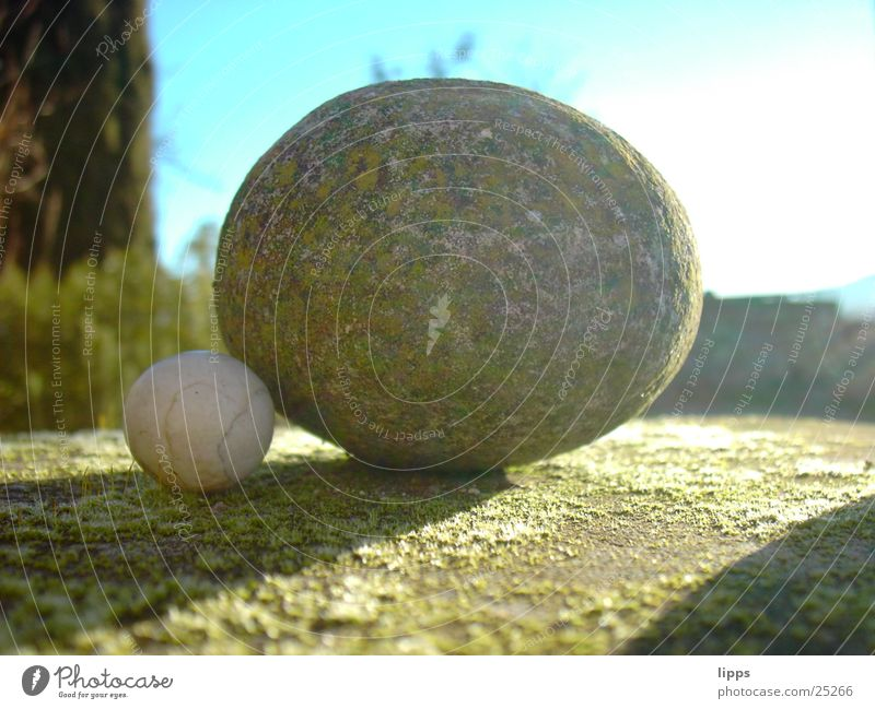 stone on stone Stone Sphere Shadow Construction