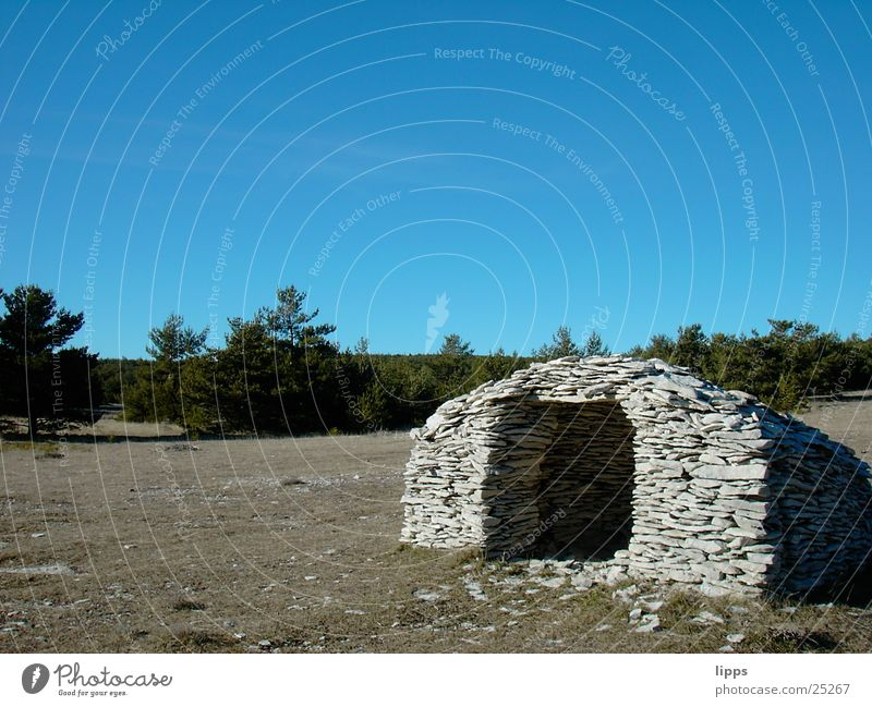 Stone Architecture Hut Provence