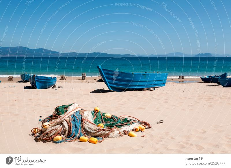 Boats on the beach Relaxation Vacation & Travel Tourism Beach Ocean Sports Environment Nature Landscape Sand Coast Transport Navigation Boating trip Watercraft